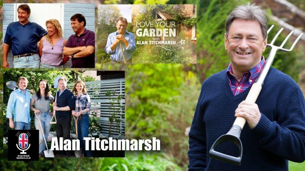 Alan Titchmarsh gardener broadcaster writer speaker at Greart British Speakers