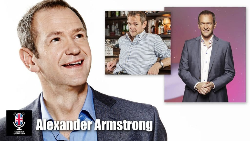 Alexander Armstrong Comedian After Dinner Speaker event awards host corporate booking Great British Speakers