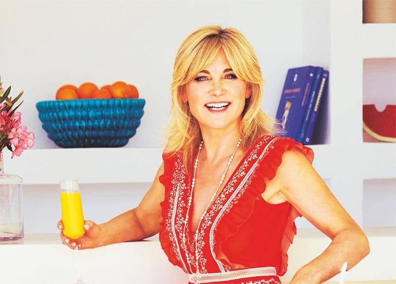 Anthea Turner Blue Peter interior design lifestyle healthy living TV presenter host at Great British Presenters