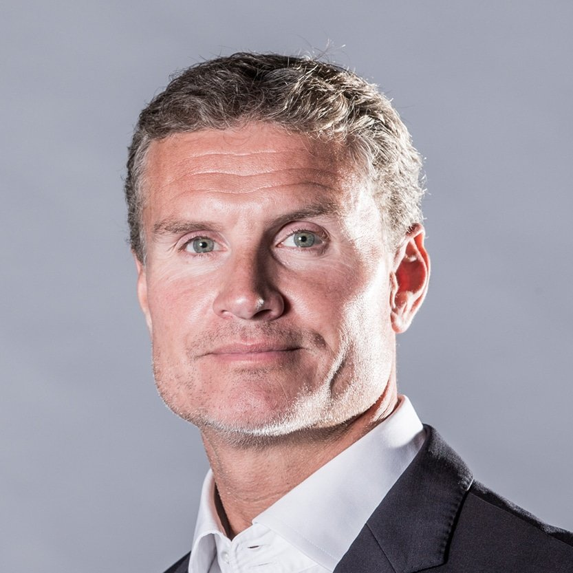 David Coulthard F1 Red Bull Mercedes Benz champion speaker at Great British Speakers