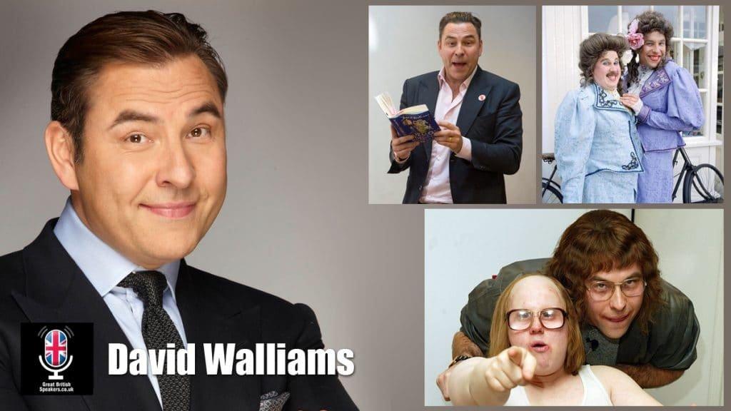 David Walliams TV host comedian presenter writer at Great British Speakers