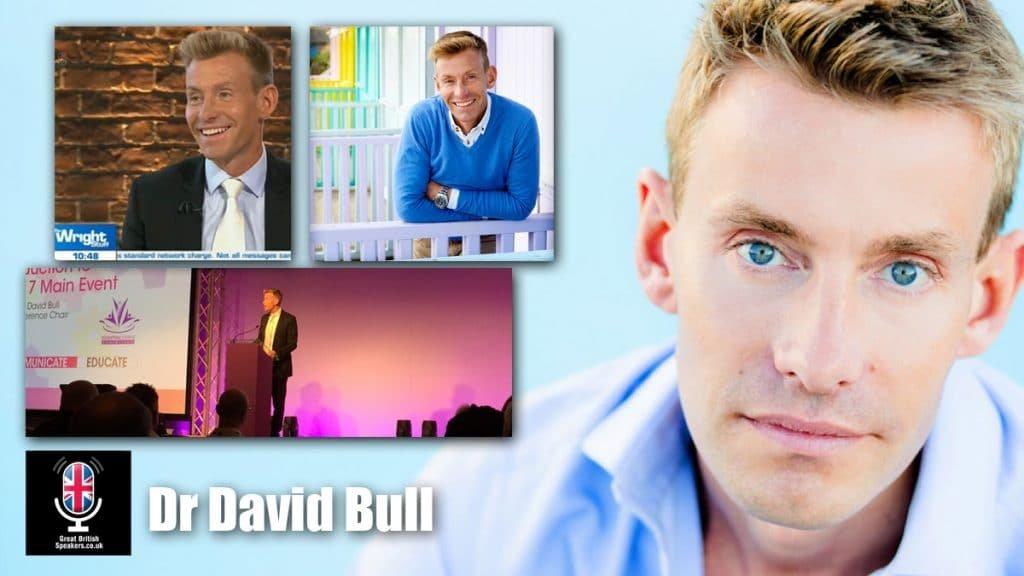 Dr David Bull Medical Doctor Entrepreneur speaker host Speaker at Great British Speakers