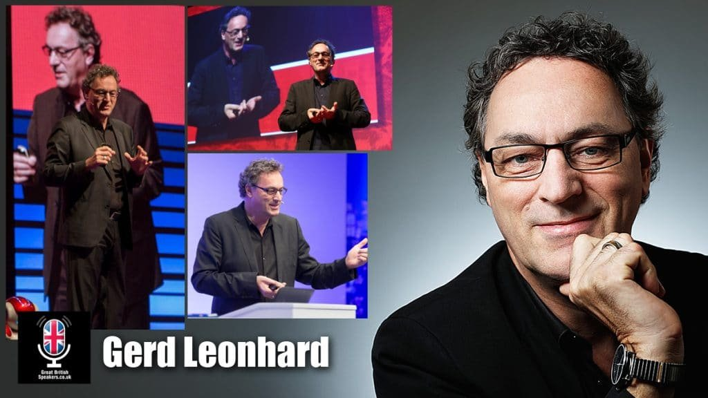 Gerd-Leonhard international futurist speaker availalble from Great British Speakers
