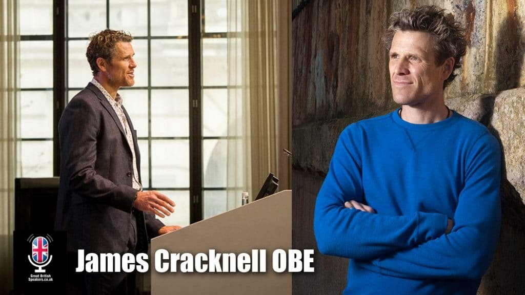 James Cracknell OBE Former Olympic rowing World champion at Great British Speakers
