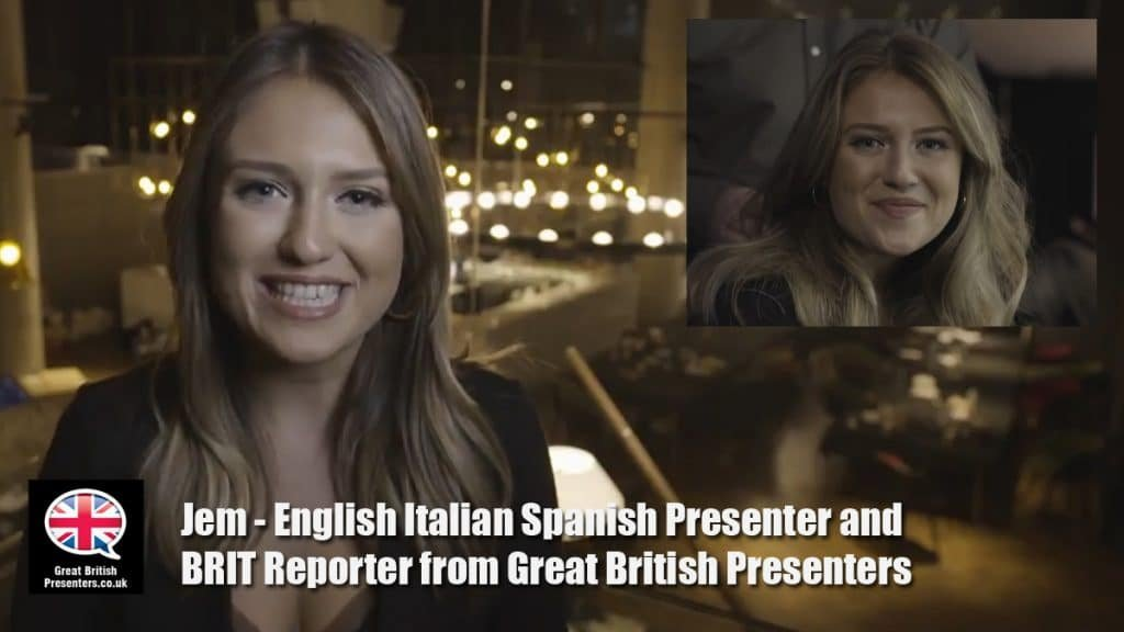Jem Marshall, Fluent spanish, fluent italian, young presenter, Great British Presenters, British Presenter, English Presenter, Live Events Presenter, Event Host, Video Presenter, MC, Compere, TV presenter,