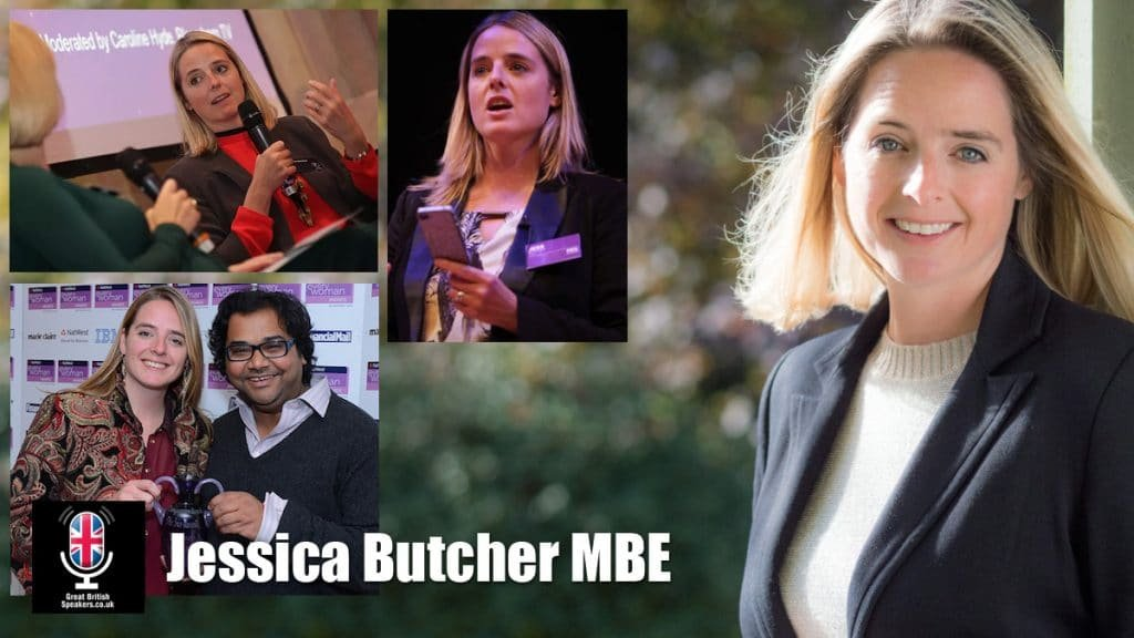 Jessica Butcher MBE Blippar tech entrepreneur speaker at Great British Speakers
