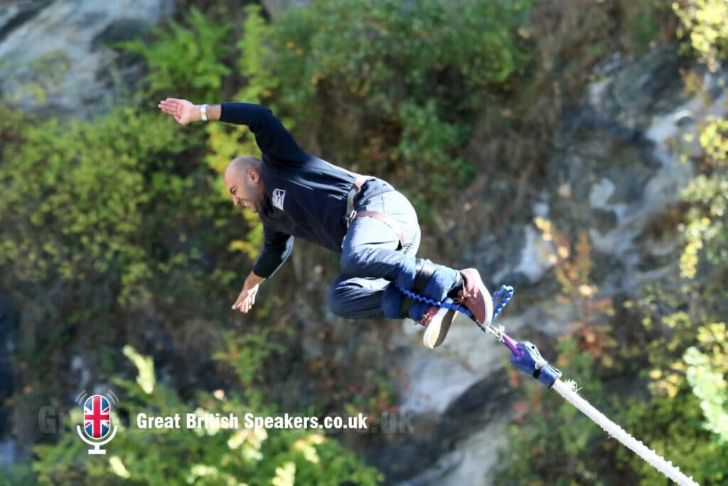 Amar Latif inspirational motivational travel entrepreneur speaker TV presenter at Great British Speakers