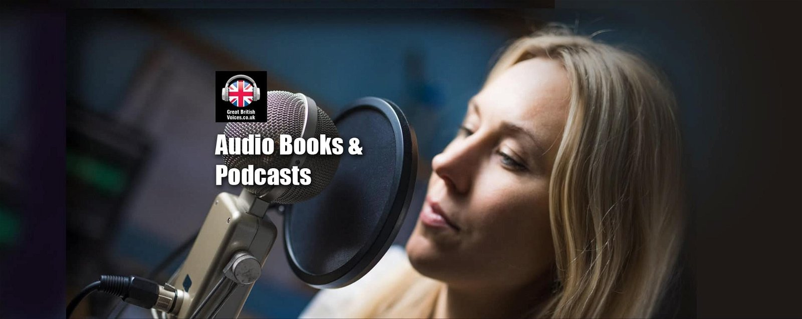 Audio Books and Podcast Voices at Great British Voices-min