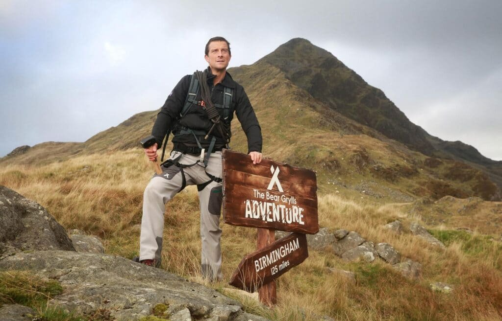Bear Grylls adventurer TV broadcaster from Great British Speakers