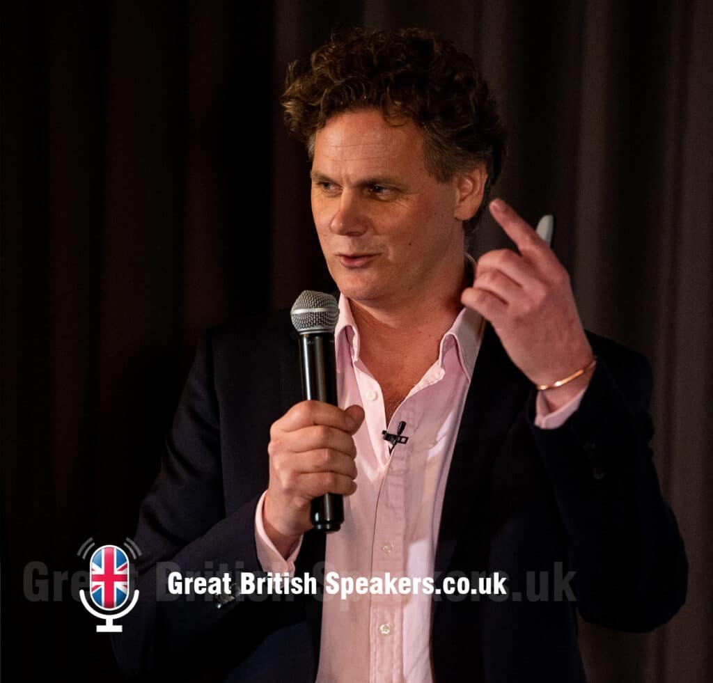Caspar Craven - motivational inspirational teamwork performance coach speaker at Great British Speakers