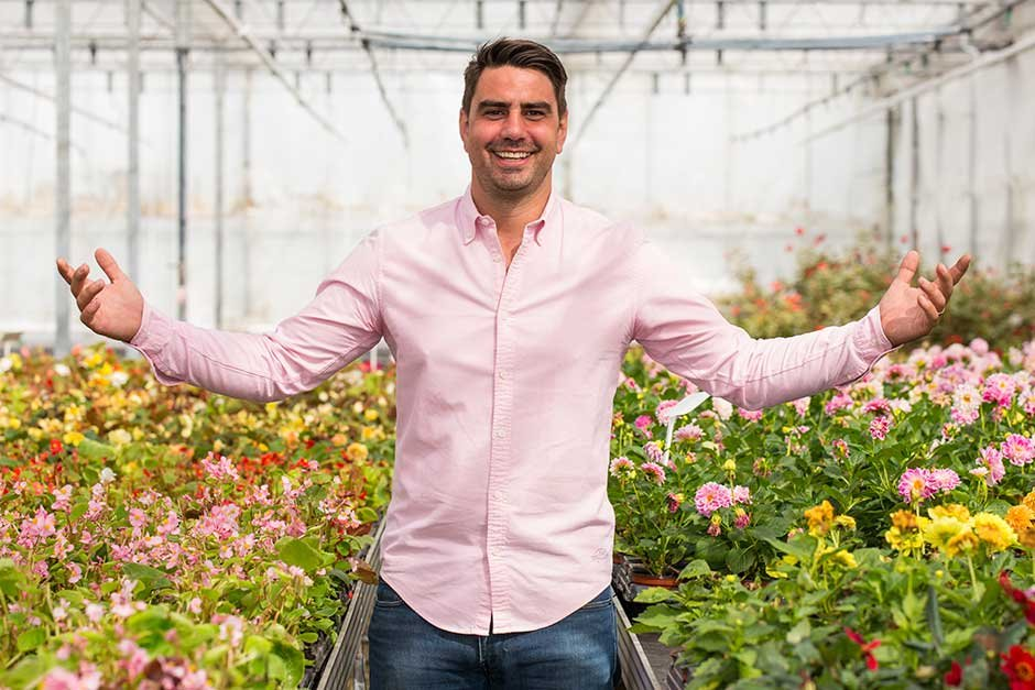 Chris Bavin eat well for less greengrocer healthy eating expert TV presenter at Great British Speakers