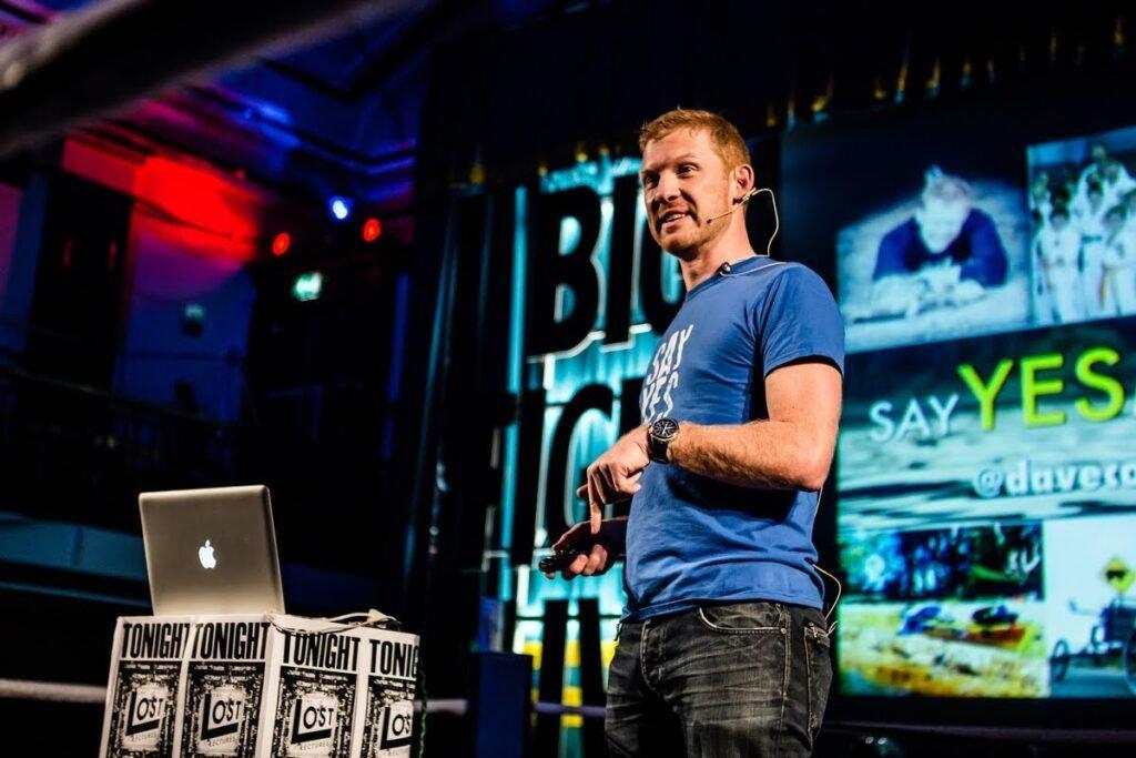 Dave Cornthwaite - Adventurer inspirational speaker at Great British Speakers 2017