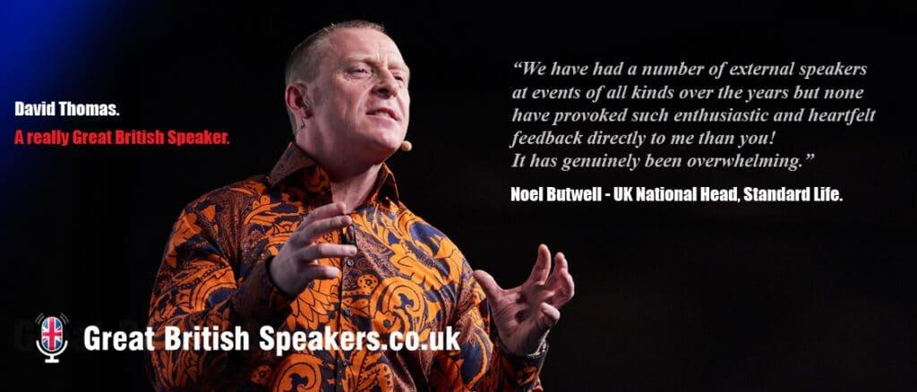 David Thomas memory expert and Inspirational speaker at Great British Speakers
