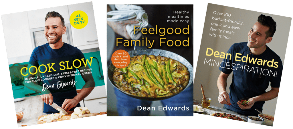 Deans Edwards cookbooks at Great British Speakers