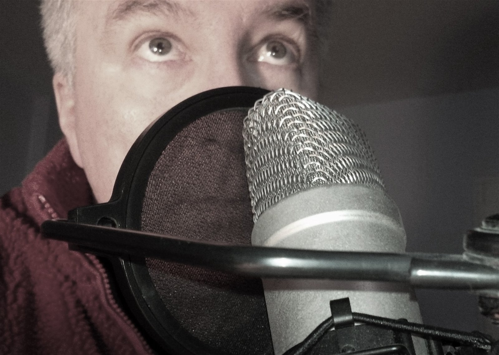 Canadian VO Erich at Great British Voices