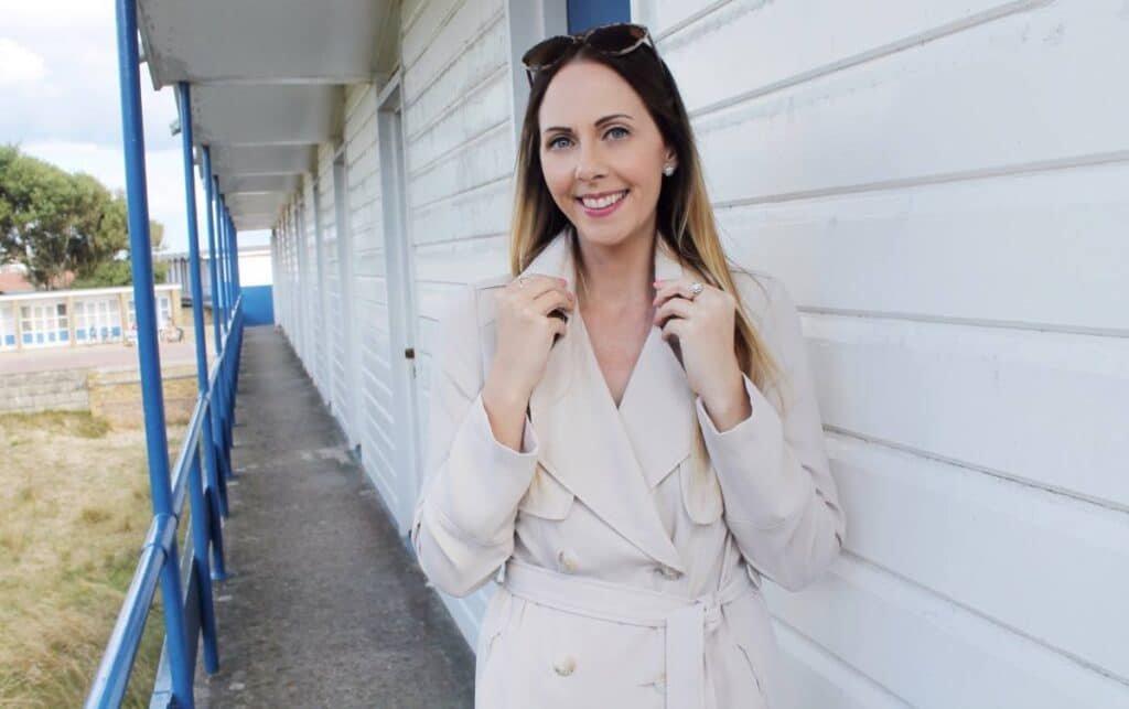 Fashion marketer presenter Rhiannon beauty style blogger tv presenter at Great British Presenters