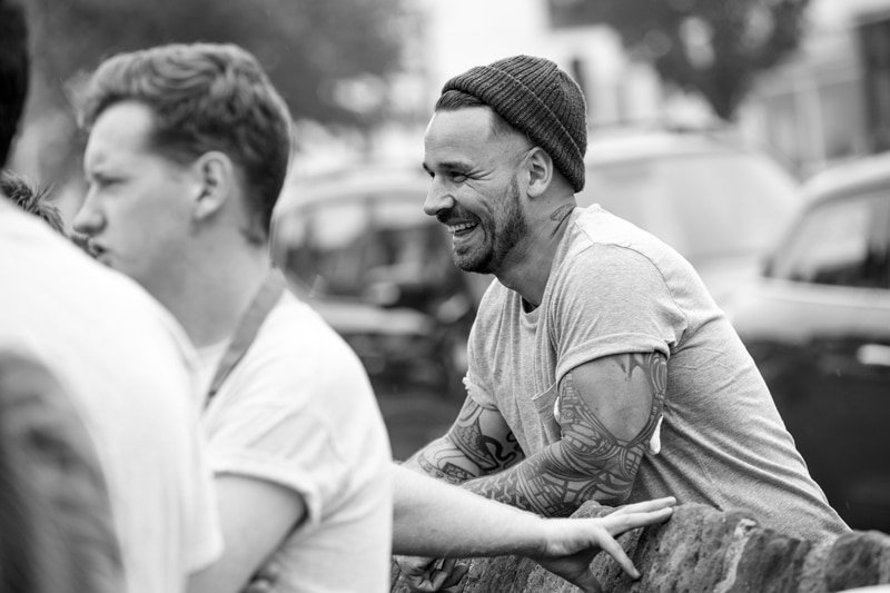 Gary Usher innovative Kickstarter crowdfunder Wreckfish Pinion Sticky Walnut chef broadcaster at Great British Speakers