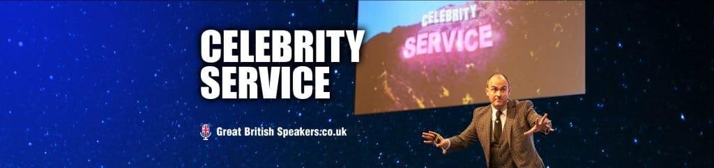Geoff Ramm Celebrity Service at Great British Speakers