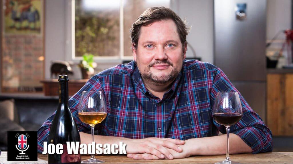 Joe Wadsack broadcaster speaker wine expert somelier virtual wine tastings at Great British Speakers
