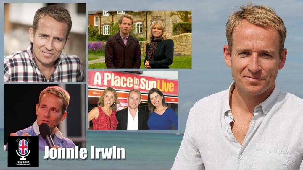 Jonnie Irwin Property presenter writer expert dveloper at Great British Speakers