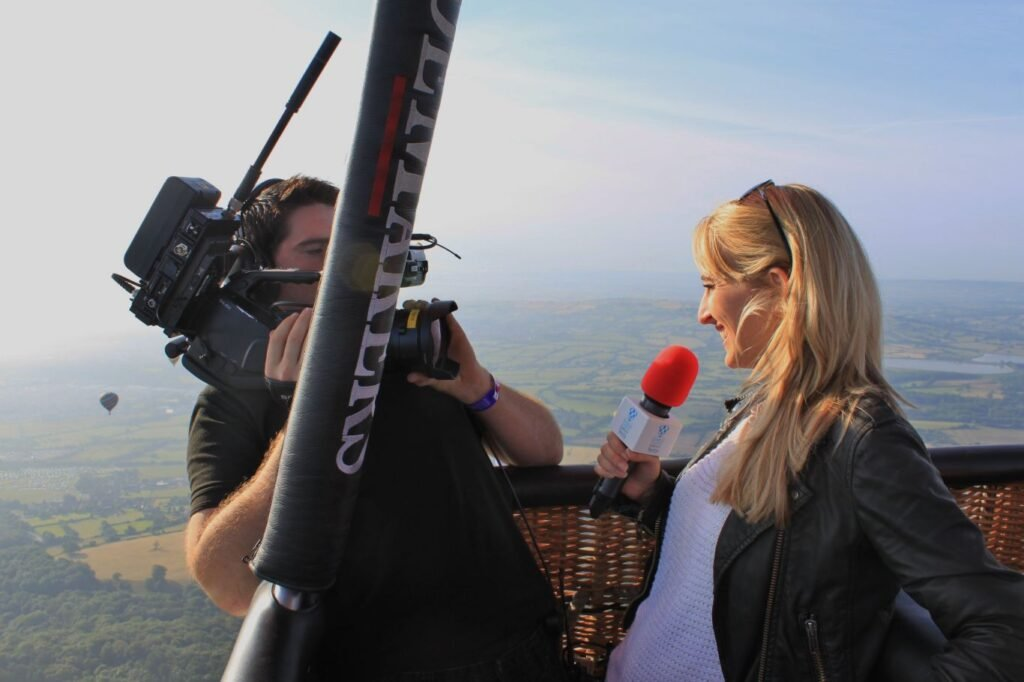 Kiri Bloore corporate sports fashion news presenter at Great British Presenters