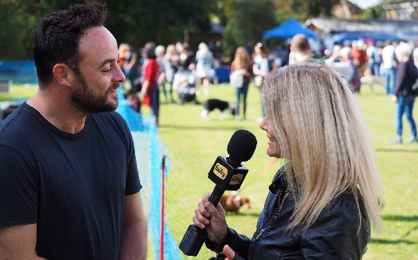 Laura Naylor interviews ant mcpartlin female English UAE Dubai based TV radio live host presenter at Great British Presenters