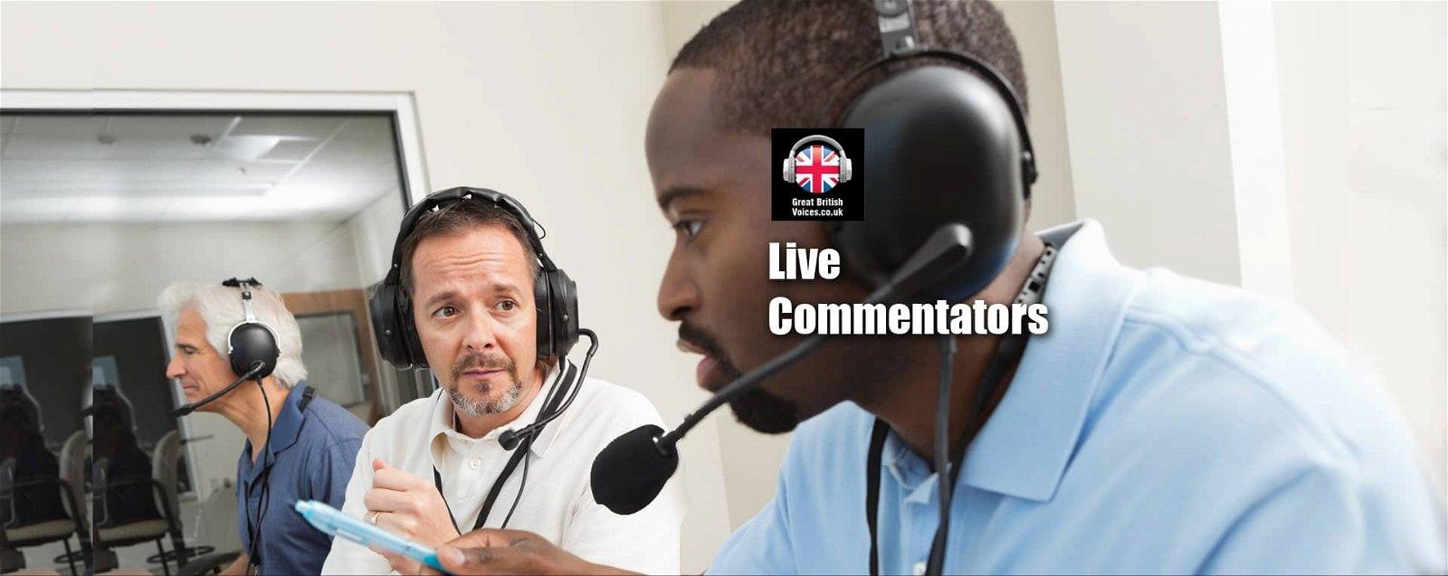 Live Commentators at Great British Voices-min