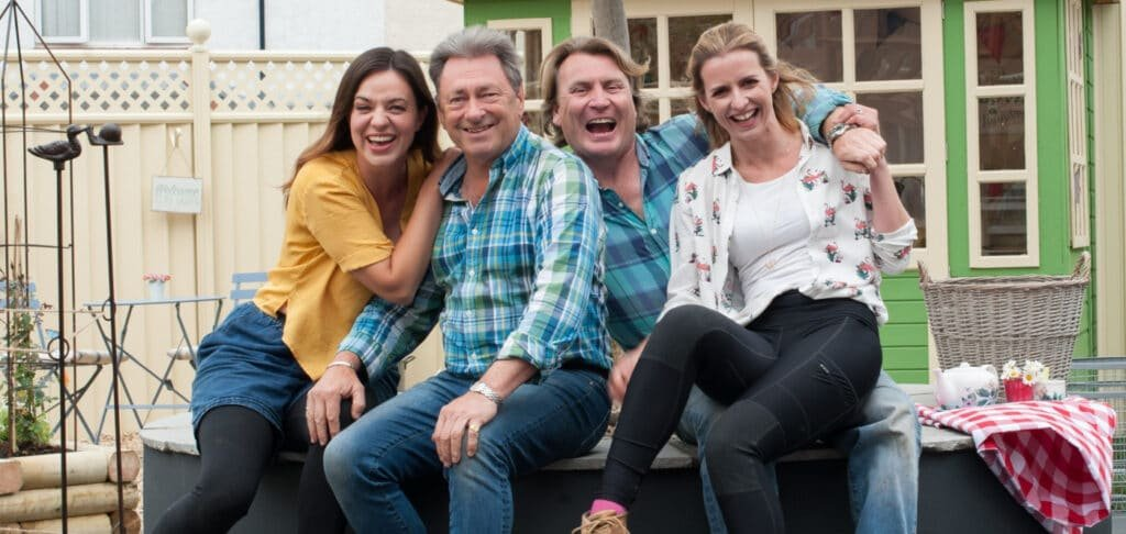Love Your Garden Presenters Alan Titchmarsh David Domoney Frances Tophill at Great British Speakers