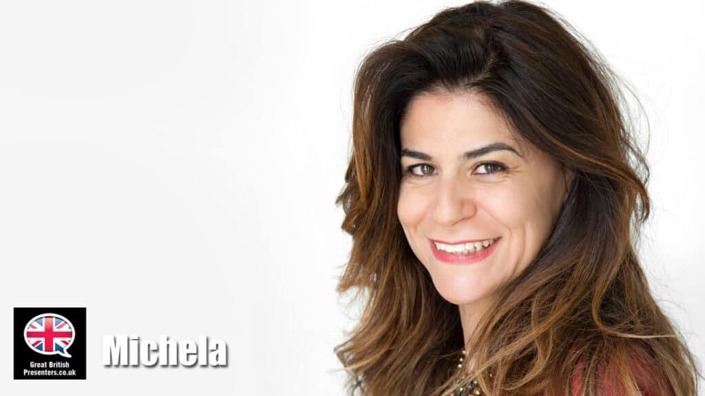 Michela Di Carlo Italian lifestyle writer presenter at Great British Presenters