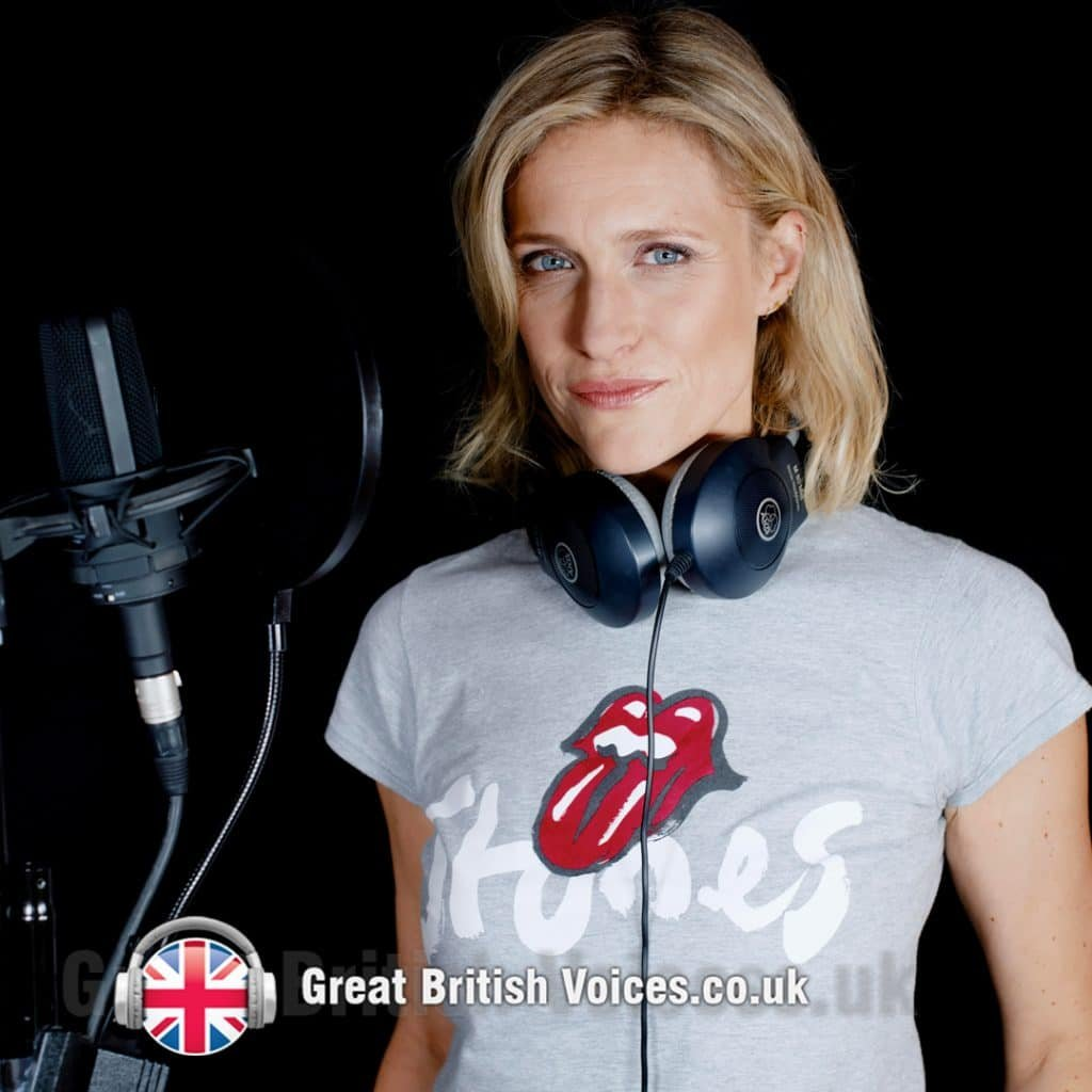 Michelle Livings female voice artist at Great British Voices
