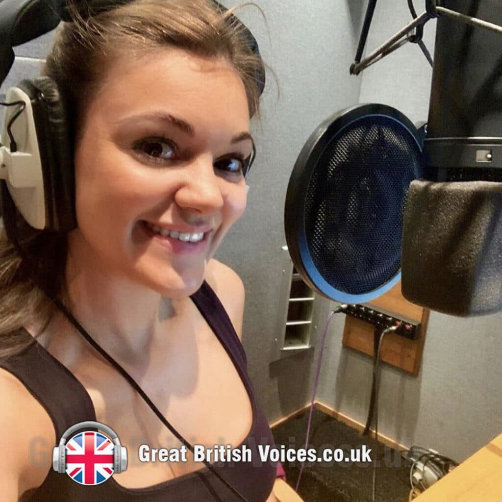Mirabel young female voice over with studio at Great british Voices