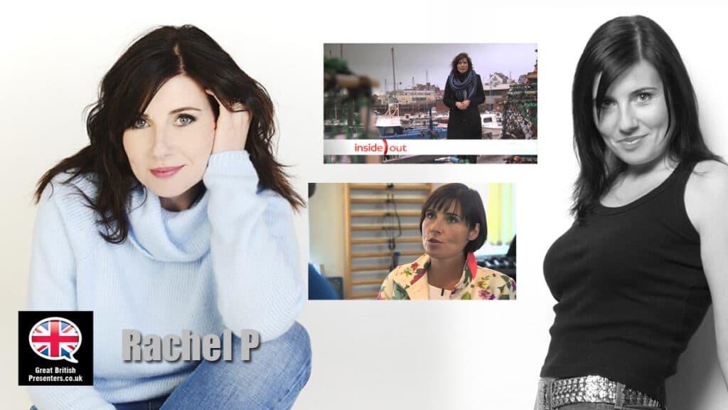 Rachel Pierman Female lifestyle news host presenter journalist Northern English book at Great British Presenters
