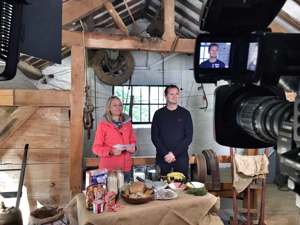 Sam Mann ITV This Morning lifestyle food TV presenter at Great British Presenters
