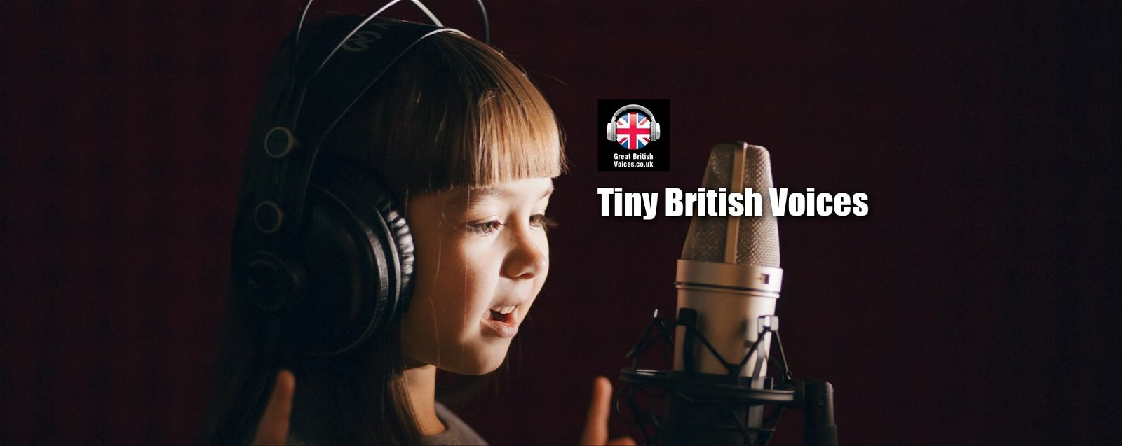 Tiny British Childrens Voices at Great British Voices-min