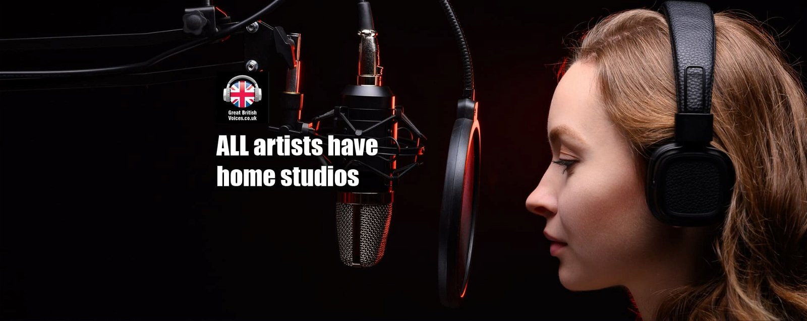 Voice over Actors with studios at Great British Voices-min
