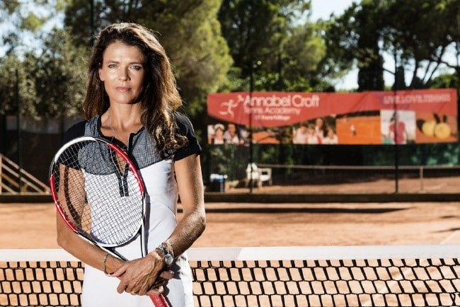 Annabel_Croft ex tennis professional presenter coach host at Great British Speakers