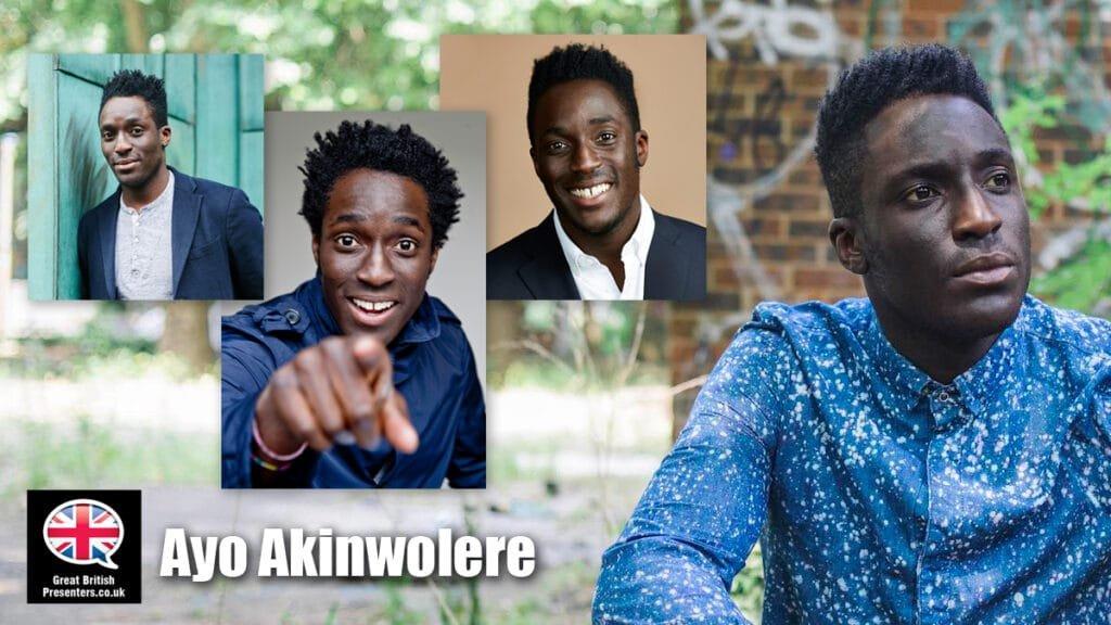 Ayo Akinwolere Blue Peter host presenter book at Great British Presenters