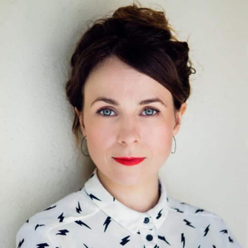 Cariad Lloyd comedian Peep Show Have I Got News For You at Great British Speakers