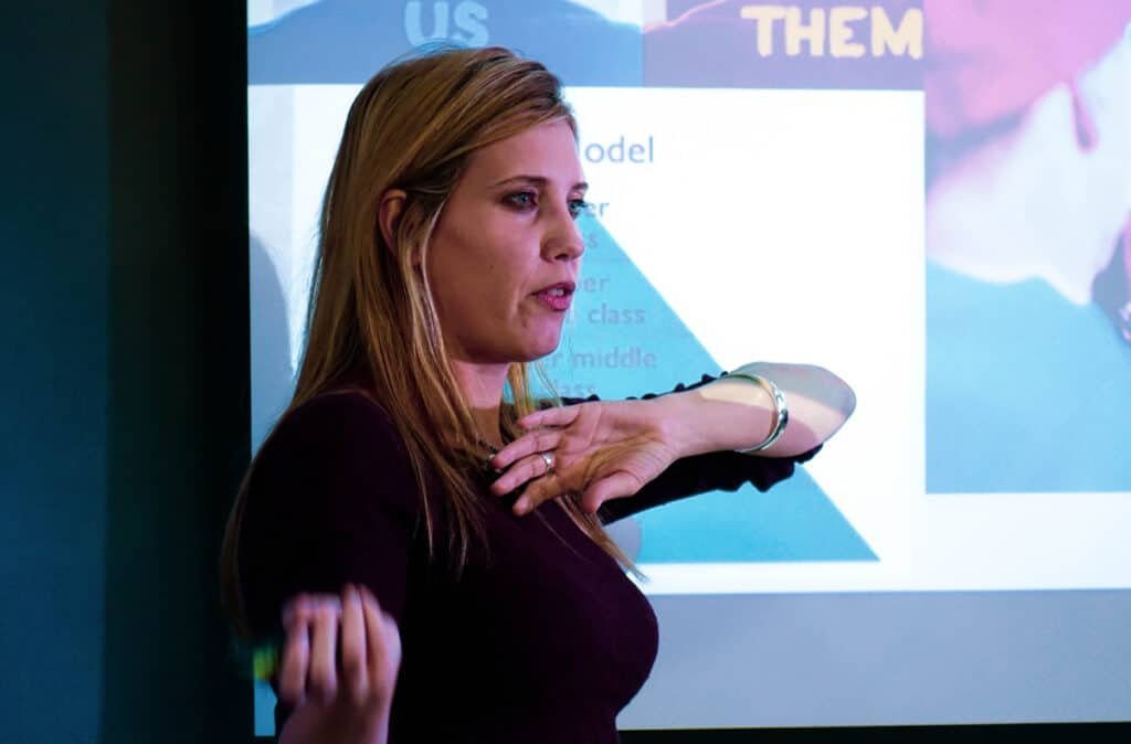 Chole Combi educational Speaker Consultant Futurist Generation Z book at Great British Speakers