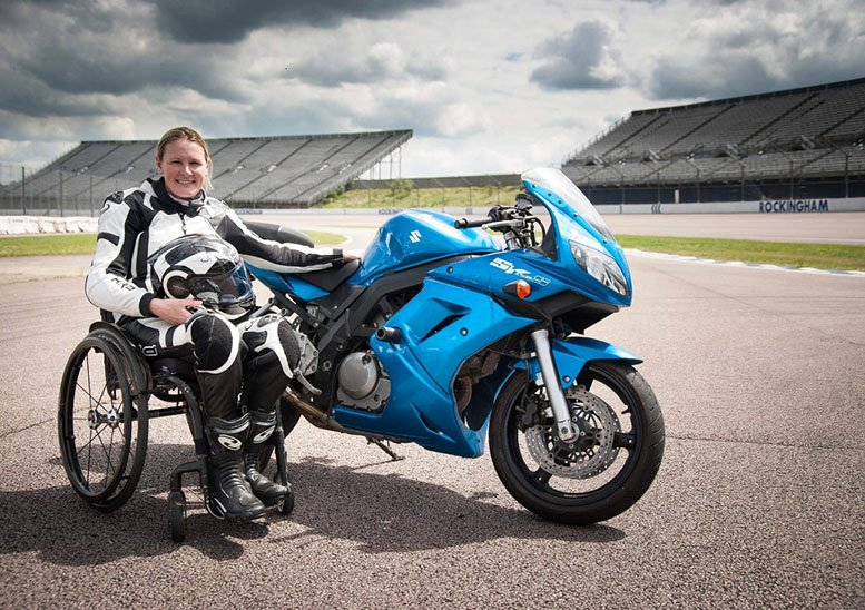 Claire Lomas MBE motivational speaker at Great British Speakers