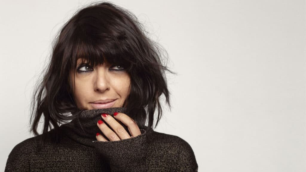 Claudia Winkleman Stricly Come Dancing awards host TV presenter at Great British Speakers