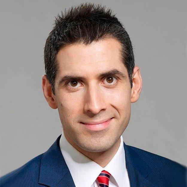 David Garrido English Spanish sports TV presenter live awards host at Great Britsih Speakers