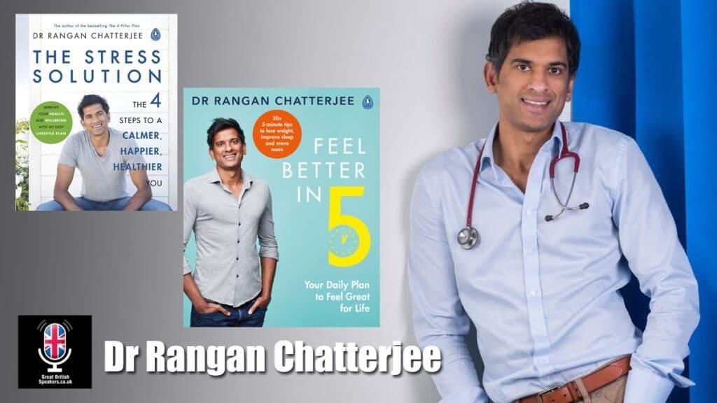 Dr Rangan Chatterjee Doctor In The House Health Wellness Speaker presenter host at Great British Speakers