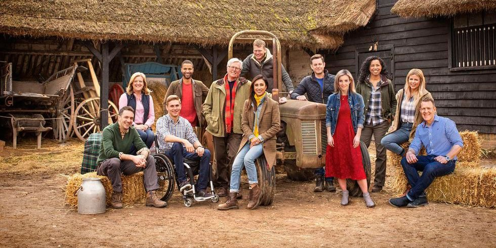 Great British Speakers Countryfile presenters Adam Henson Steve Brown Anita Rani Ellie Harrison