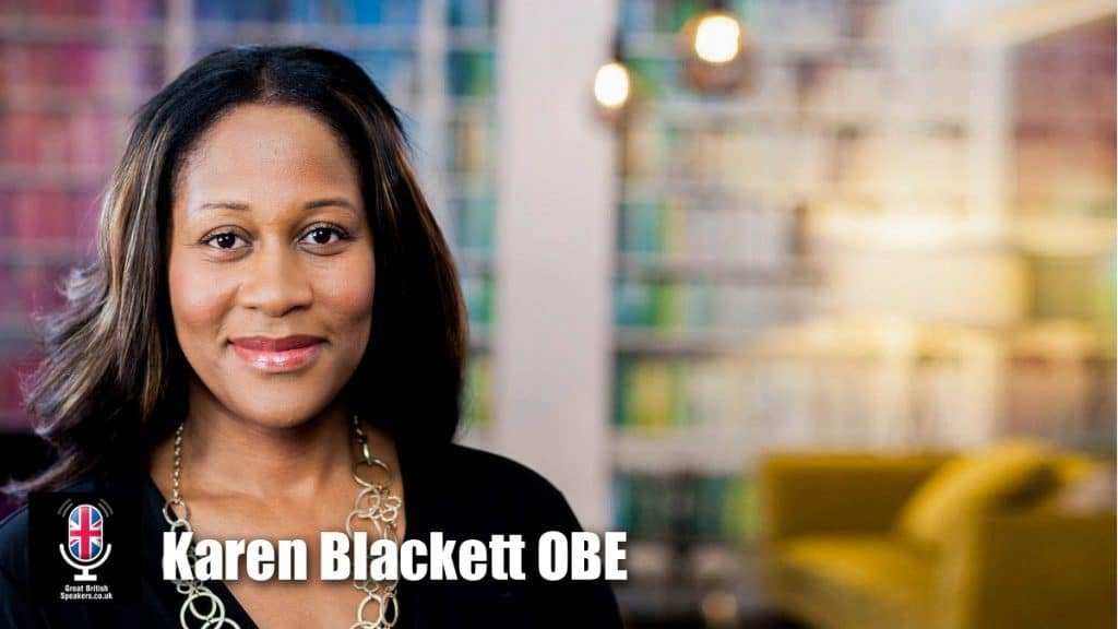 Karen-Blackett-OBE-Influential-Inspirational-Women-WPP-MediaCom-Race-Equality-Business-Champion-Leadership-Diversity-speaker-at-Great-British-Speakers