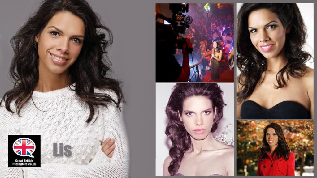 Elisabeth Shahlavi at Great British Presenters video tv presenter at Great British Presenters