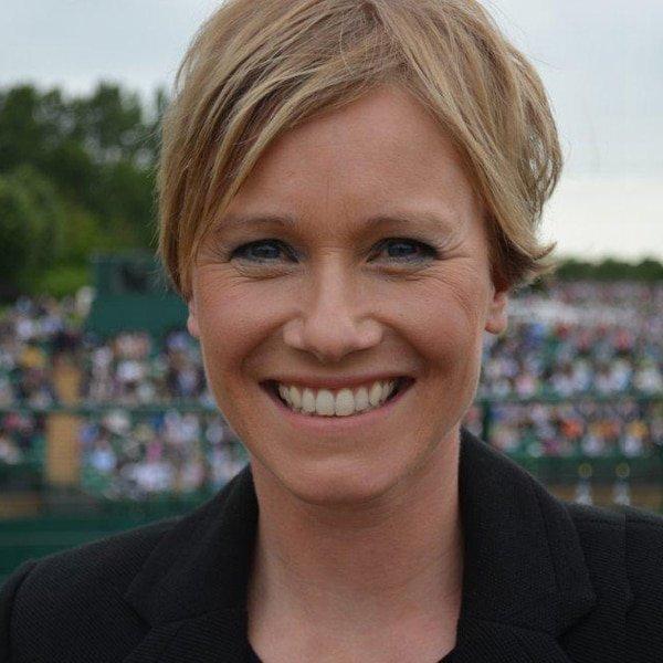 Lizzie Greenwood Hughes RTS award winning broadcaster sport factual news entertainment TV Radio speaker host at Great British Speakers