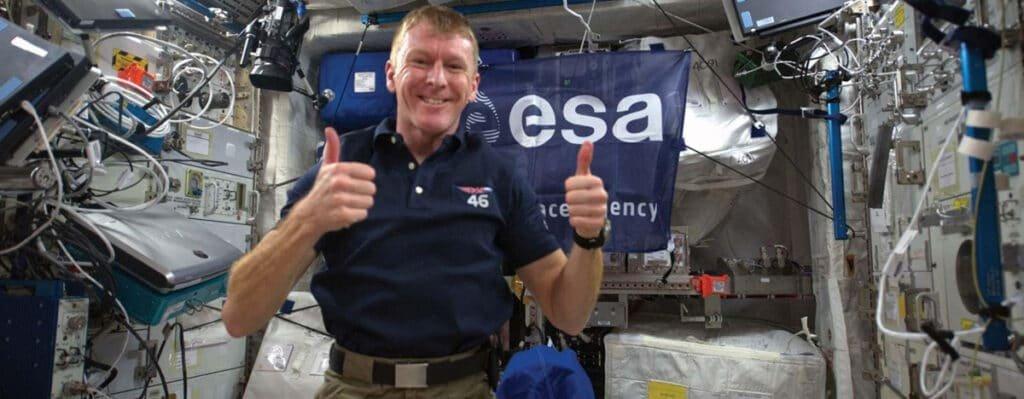 Major Tim Peake European Space Agency ESA astronaut speaker at Great British Speakers