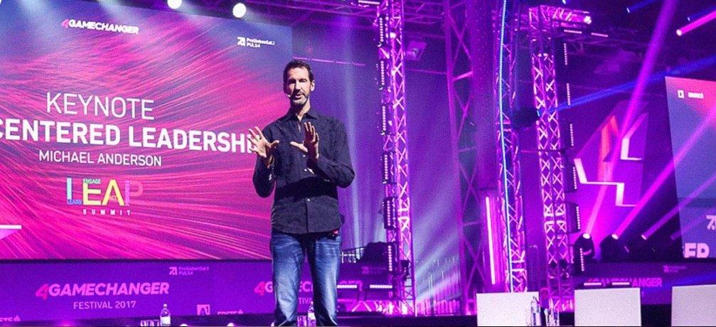Michael Anderson Tech leadership Entrepreneur inspirational Speaker at Great British Speakers