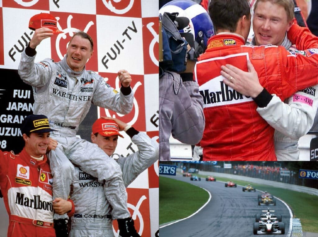 Mika Hakkinen Finnish Formula One F1 McLaren Mercedes Double Formula One World Champion at Great British Speakers